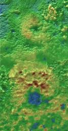 Scientists using NASA's New Horizons images of Pluto's surface to make 3-D topographic maps have discovered that two of Pluto's mountains, informally named Wright Mons and Piccard Mons, could possibly be ice volcanoes.