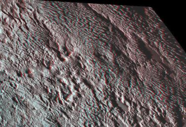 One of the strangest landforms spotted by NASA's New Horizons spacecraft when it flew past Pluto last July was the 'bladed' terrain just east of Tombaugh Regio, the informal name given to Pluto's large heart-shaped surface feature.