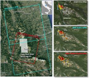 NASA data and expertise are providing valuable information for the ongoing response to the Aug. 24, 2016, magnitude 6.2 Central Italy earthquake. The quake has caused significant damage in the historic town of Amatrice.