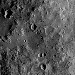 This view, taken on Oct. 22, 2016, from NASA's Dawn spacecraft shows the rim of Yalode Crater on Ceres at upper left. Yalode is one of the largest impact basins on Ceres.