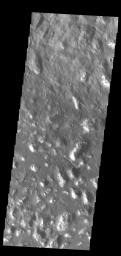 This image captured by NASA's 2001 Mars Odyssey spacecraft shows part of Ariadnes Colles. The term colles means hills.