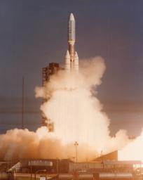 NASA's Voyager 1 spacecraft launched atop its Titan/Centaur-6 launch vehicle from the Kennedy Space Center Launch Complex in Florida on September 5, 1977, at 8:56 a.m. local time.