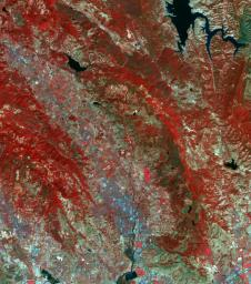The October fires in Northern California were some of the most destructive in the state's history. These images from NASA's Terra spacecraft were acquired September 7, 2016 and October 28, 2017.
