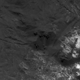 This image of bright material in Occator Crater on Ceres was obtained by NASA's Dawn spacecraft on July 5, 2018 from an altitude of about 34 miles (55 kilometers).