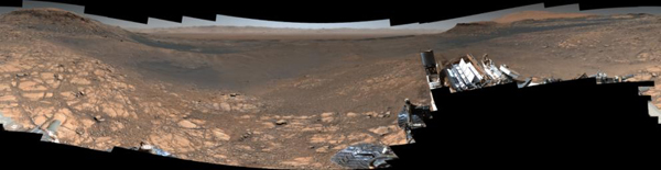 NASA's Curiosity rover captured its highest-resolution panorama of the Martian surface between Nov. 24 and Dec. 1, 2019.