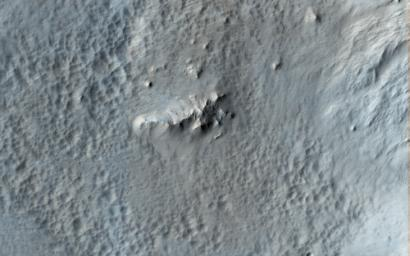 This image acquired on December 30, 2019 by NASA's Mars Reconnaissance Orbiter, shows Tooting Crater, one of the youngest craters on Mars that is larger than 20-kilometers in diameter.