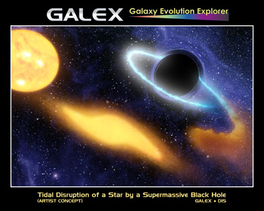 Click here for poster version of PIA01884 Black Hole Grabs Starry Snack
