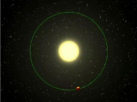 Click here for movie without data of PIA01936 Fire and Ice Planet