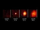 Figure 1: Analyzing a Cometary 'Sneeze'