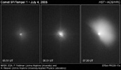 Figure 1: Hubble Witnesses Comet Crash
