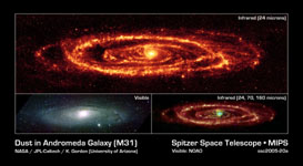 figure 1 for PIA03031 Dust in Andromeda Galaxy (M31)