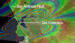 Click here for PIA03032 animation New Forecast of San Francisco Earthquake Risk