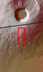 Context image for PIA03040 Pavonis Mons Flank
