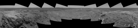 Left-eye view of a stereo pair for PIA03058
