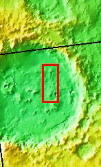 Context image for PIA03192 Holden Crater Dunes
