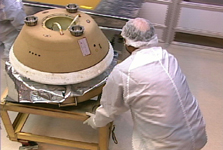 Click here for Rehearsal: Sample Canister in Cleanroom animation