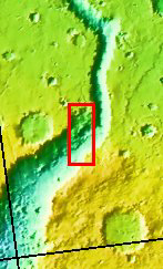 Context image for PIA03280 Shalbatana Vallis