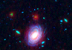 Combined Visible-Infrared (Hubble and Spitzer) Figure 1 Upper Left
