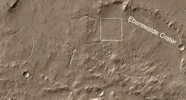 figure 2 for PIA04293 Context in THEMIS IR mosaic of Eberswalde Crater; North is Down