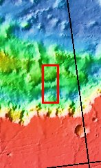 Context image for PIA08033 Layered Deposit