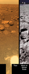 Click here for annotated version of PIA08115 Titan's Surface