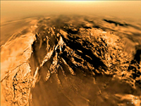 Click here for QuickTime movie of PIA08118 A View from Huygens - Jan. 14, 2005