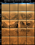 Click here for annotated version of PIA08119 Views of Titan from Different Altitudes