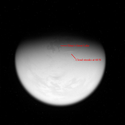 Click here for annotated version of PIA08363 Giant Lake on Titan
