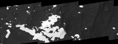 Click here for black and white version of PIA08379 Towering Peaks of Iapetus