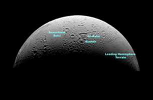 Click here for annotated version of PIA08409 The North Polar Region of Enceladus