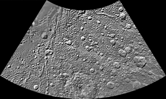 Click here for larger version of PIA08418 Unlabeled Aeneas Terrain Section