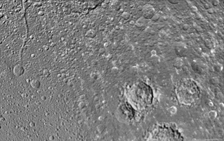 Click here for larger version of PIA08418 Unlabeled Romulus Terrain Section