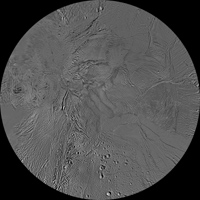 Click here for larger version of PIA08419 Unlabeled Damascus Sulcus Terrain Section