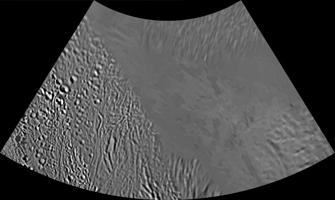 Click here for larger version of PIA08419 Unlabeled Terrain Section