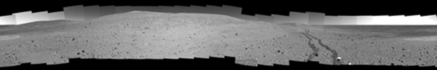 Left-eye view of a stereo pair for PIA08752
