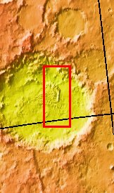 Context image for PIA09316 Russell Crater - IR