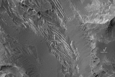 Click here for annotated version of PIA09365 Layers in Melas Chasma