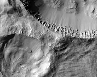Click here for larger version of PIA09369 Rayed Gratteri Crater