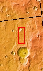 Context image for PIA09442 Dust Devil Tracks
