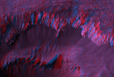 Click here for poster version of PIA09557 Stereo Anaglyphs of Ada Crater