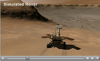 Click here for movie of PIA09688 Rolling into Victoria Crater (Simulation)