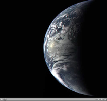 Click here for non-annotated Earth Departure movie of PIA10120