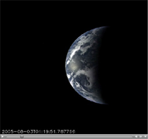 Click here for annotated Earth Departure movie of PIA10120