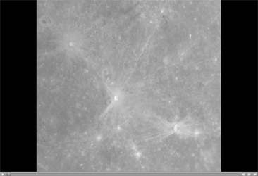 Click here for movie of PIA10197 MESSENGER Departs Mercury