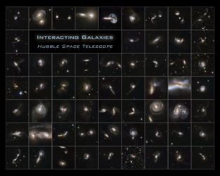 Click here for Hubble Interacting Galaxies Poster PIA10385