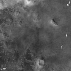 Click here for annotated version of PIA10633 Context Camera Spots Dust Devils at Phoenix Landing Site