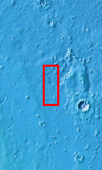 Context image for PIA10848 Asymmetric Ejecta