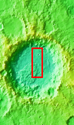 Context image for PIA10875 Pasteur Crater