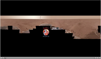 Click here for animated version of PIA11734 Full-Circle Color Panorama and Animation of Phoenix Landing Site on Northern Mars