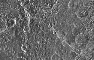 Click here for larger version of PIA12827 Unlabeled Padua Chasmata Terrain Section